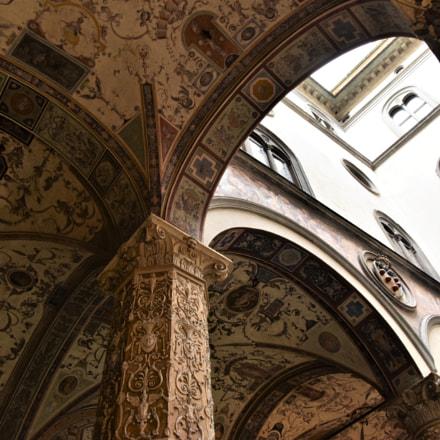 Palazzo Vecchio, Florence, Nikon D810, AF-S Nikkor 24-120mm f/4G ED VR