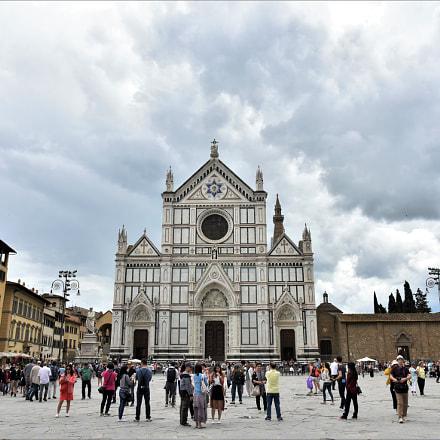 Basilica di Santa Croce, Nikon D810, AF-S Nikkor 24-120mm f/4G ED VR
