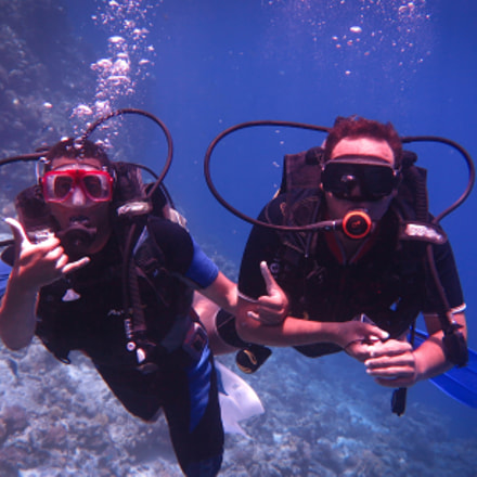 Diving , Canon POWERSHOT G1 X MARK II