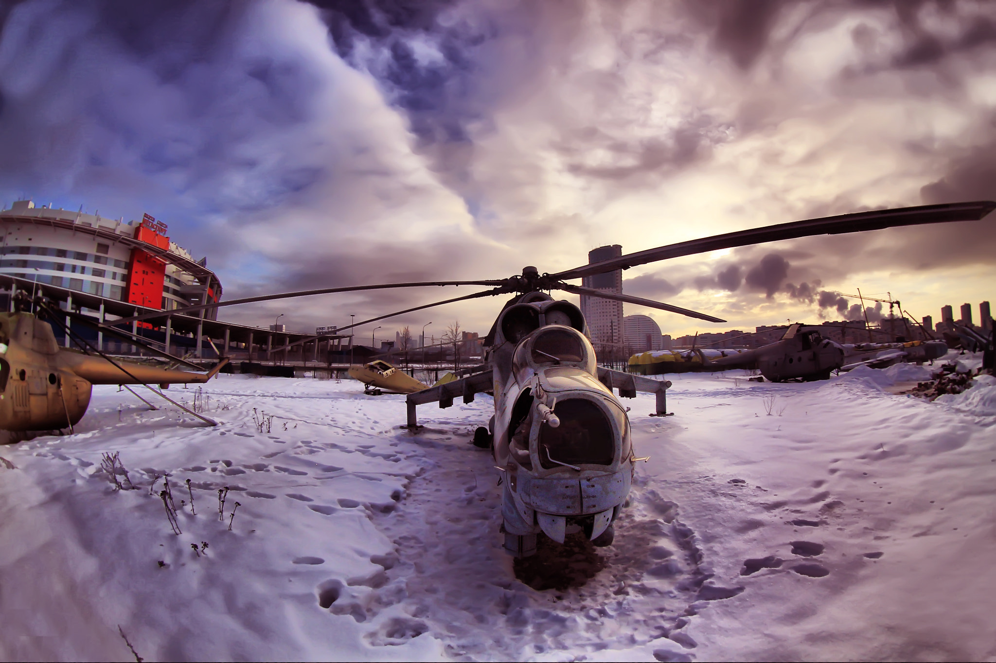 Photograph Helicopter by Arseniy Medvedev on 500px