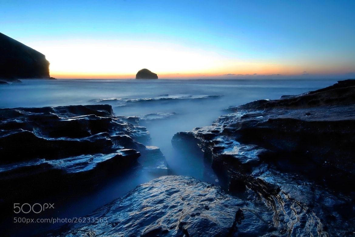Photograph Trebarwith strand by Ian Bradburn on 500px