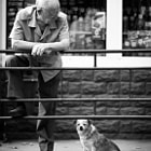 Постер, плакат: He and his dog