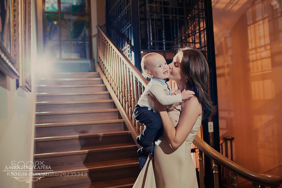Photograph Mom and child by Daria Pushkareva on 500px