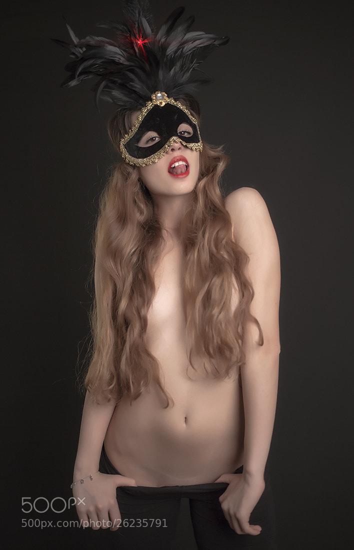 Photograph Masked Beauty II by Serhan 王 Oksay on 500px