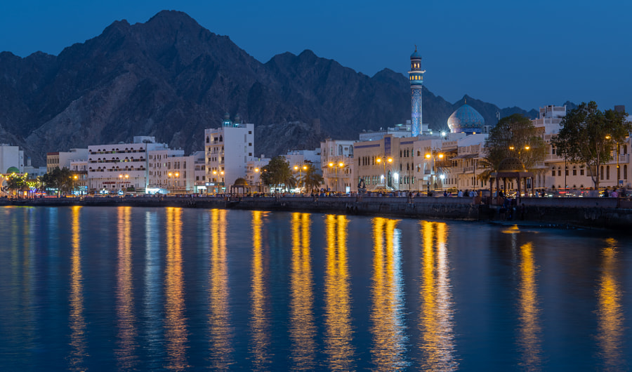 Mutrah During Eid Ul Fitr by Matt MacDonald on 500px.com