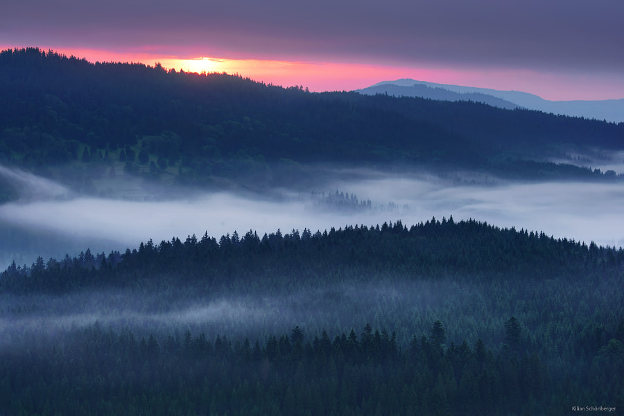 Dark Sunrise, автор — Kilian Schönberger на 500px.com