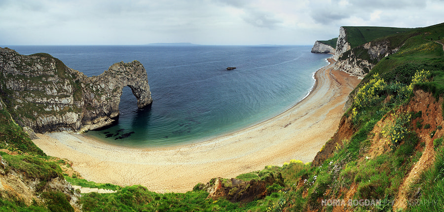 Photograph Durdle Door Panorama by Horia Bogdan on 500px