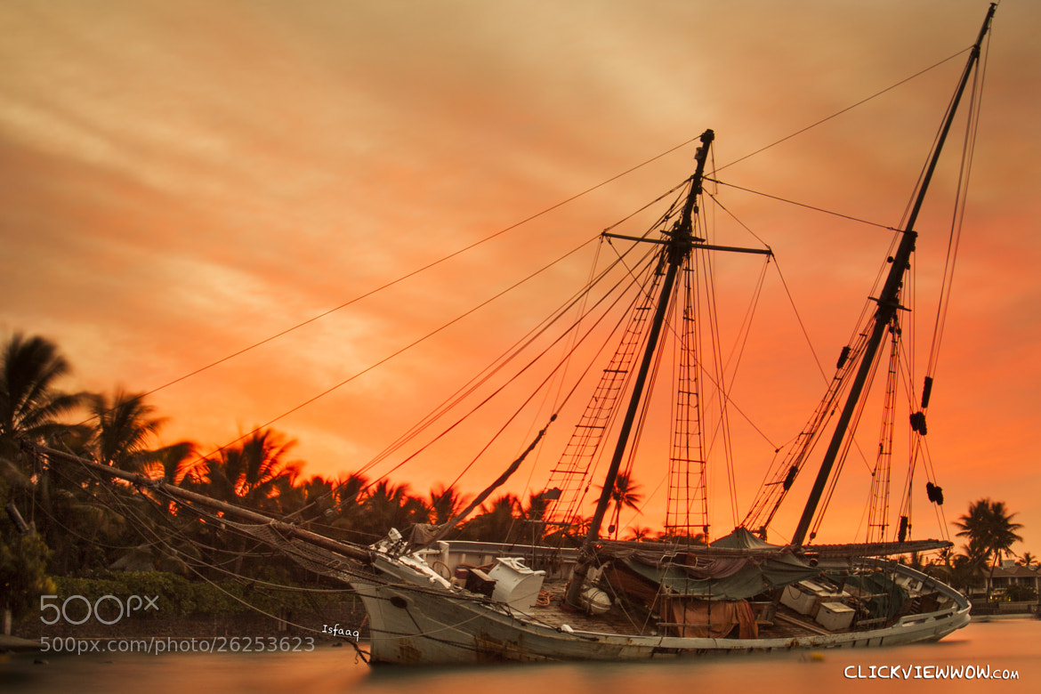 Photograph The wrecked one by Isfaaq Caunhye on 500px