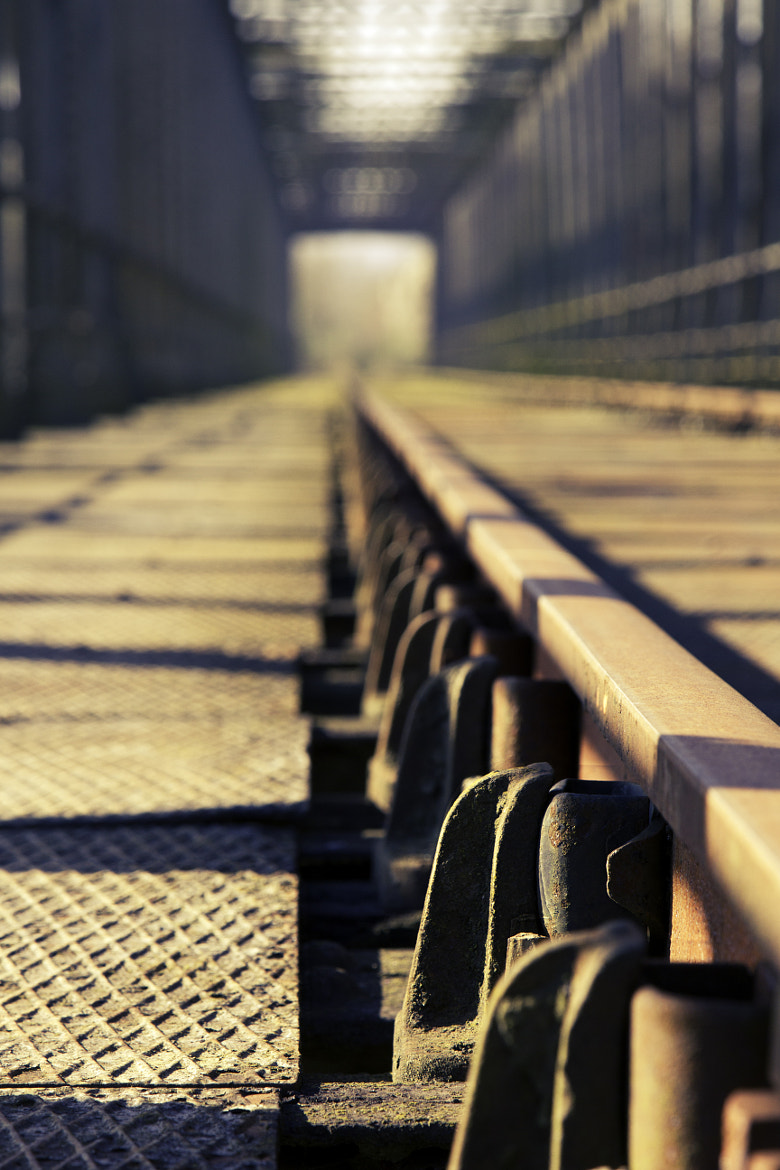 Photograph Rail road bokeh by Pierre de Izarra on 500px