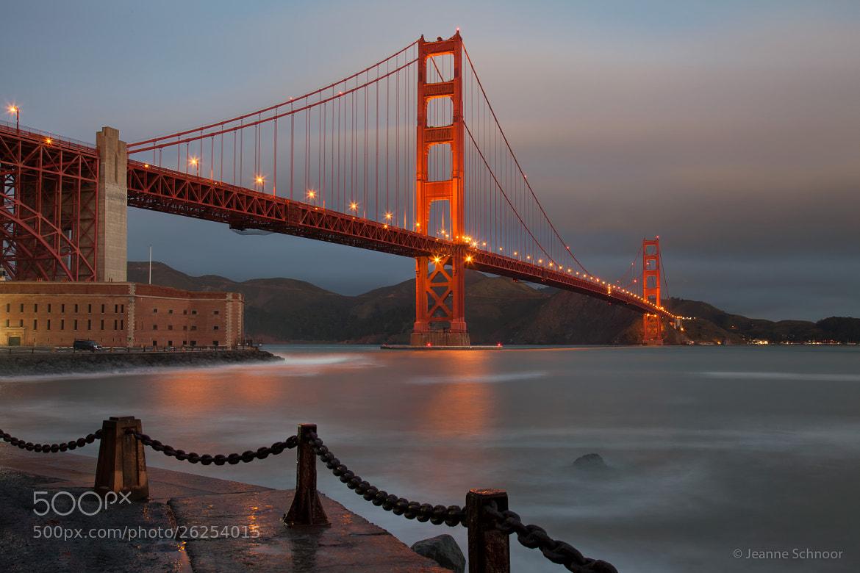 Photograph Golden Gate Bridge by Jeanne Schnoor on 500px