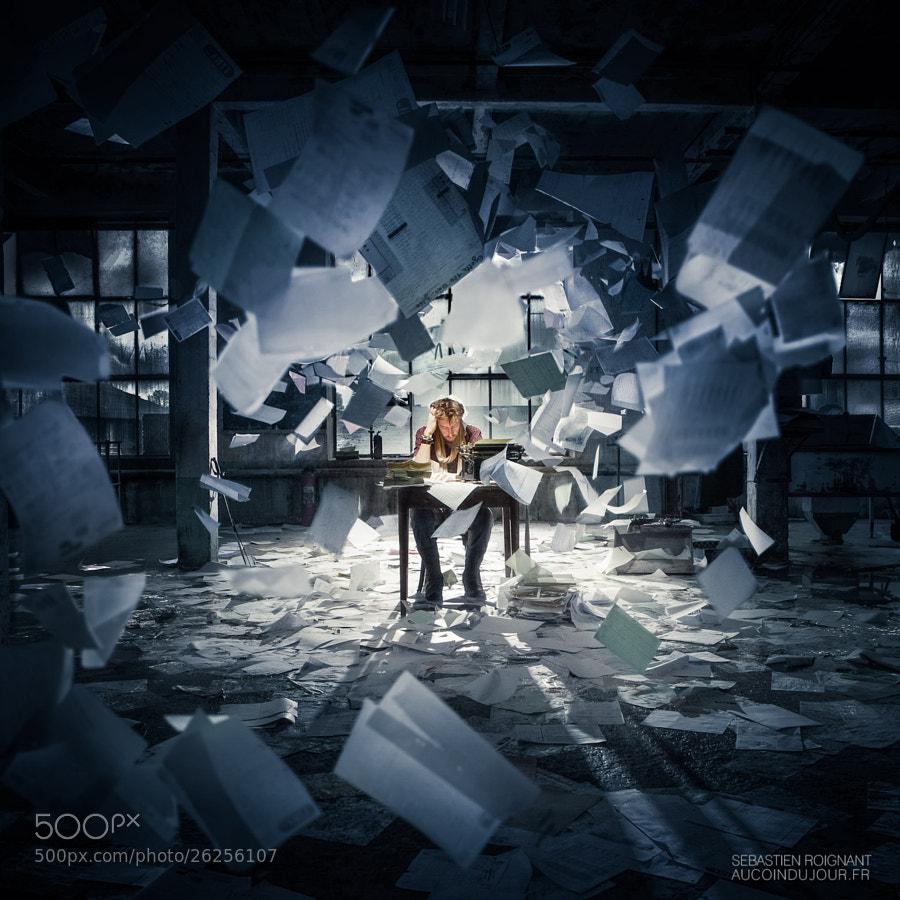 Photograph The writer by Sébastien Roignant on 500px