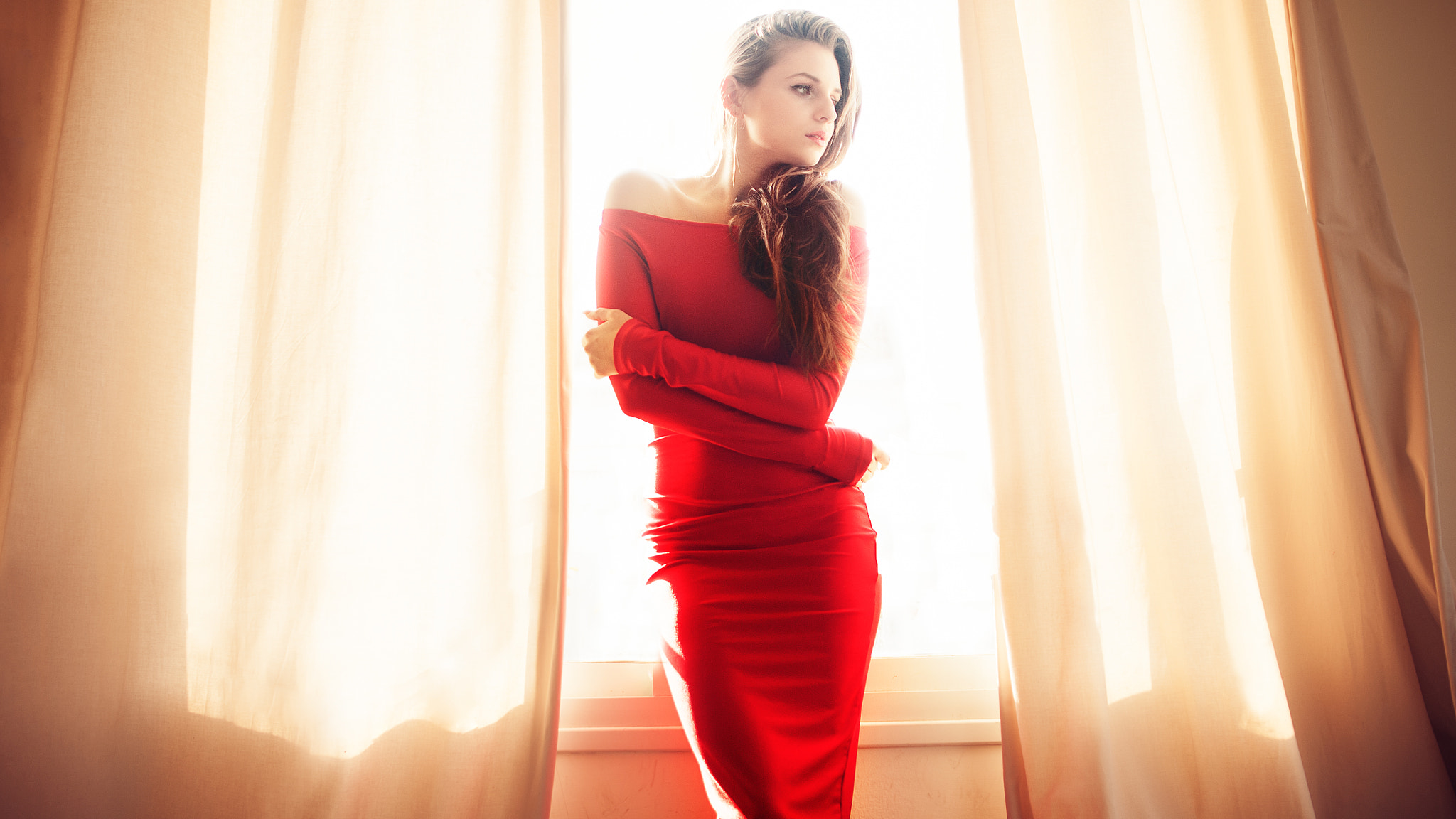 Photograph The Red Dress by Matan Eshel on 500px