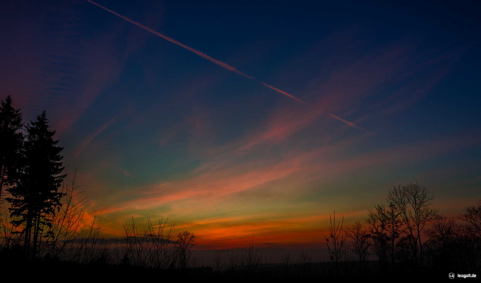 Photograph Sonnenuntergang in Ergste by Leo G on 500px