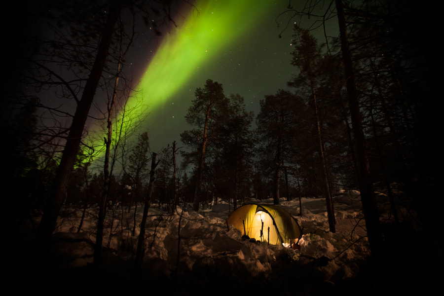 Photograph Northern lights by Erik Lindseth on 500px