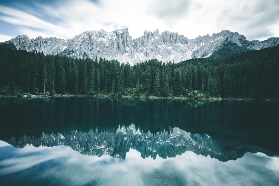 Lake Karersee, Italy by Natalie Finnie on 500px.com
