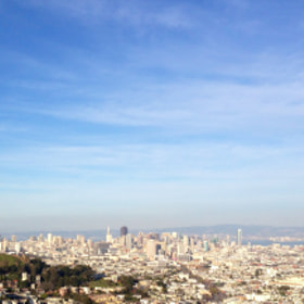 Pano of San Francisco above Misison by Henry Williams (rocknrollah)) on 500px.com