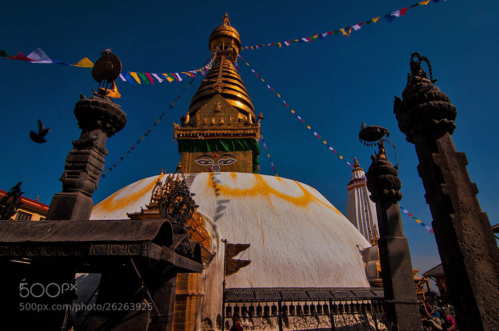 Photograph Swayembhu Nath Stupa by Samir Pradhananga on 500px