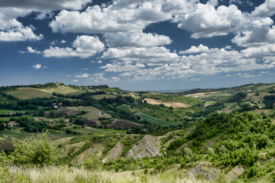 Landscape near Bologna at summer (Sabbiuno) by Claudio G. Colombo on 500px.com