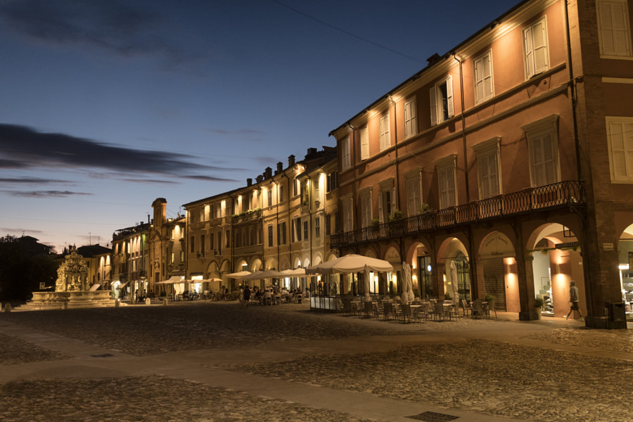 Cesena (Italy): the city at evening by Claudio G. Colombo on 500px.com