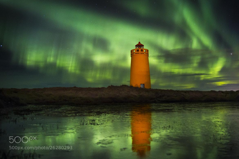 Photograph Aurora Explosion by Garðar Ólafsson on 500px