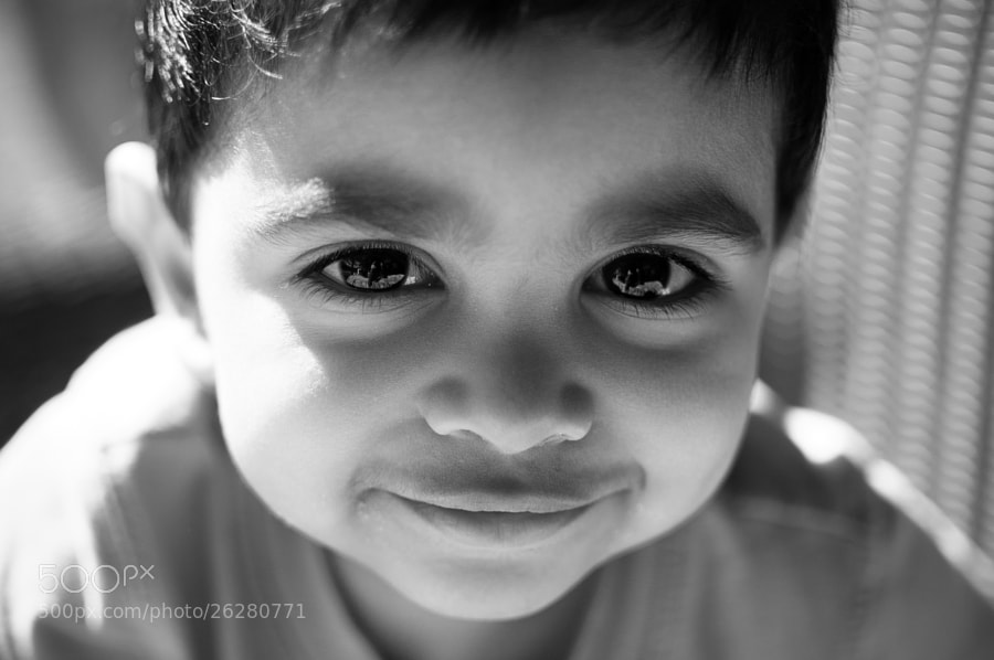 Photograph Eyes full of mischief by Pratik Mhatre on 500px