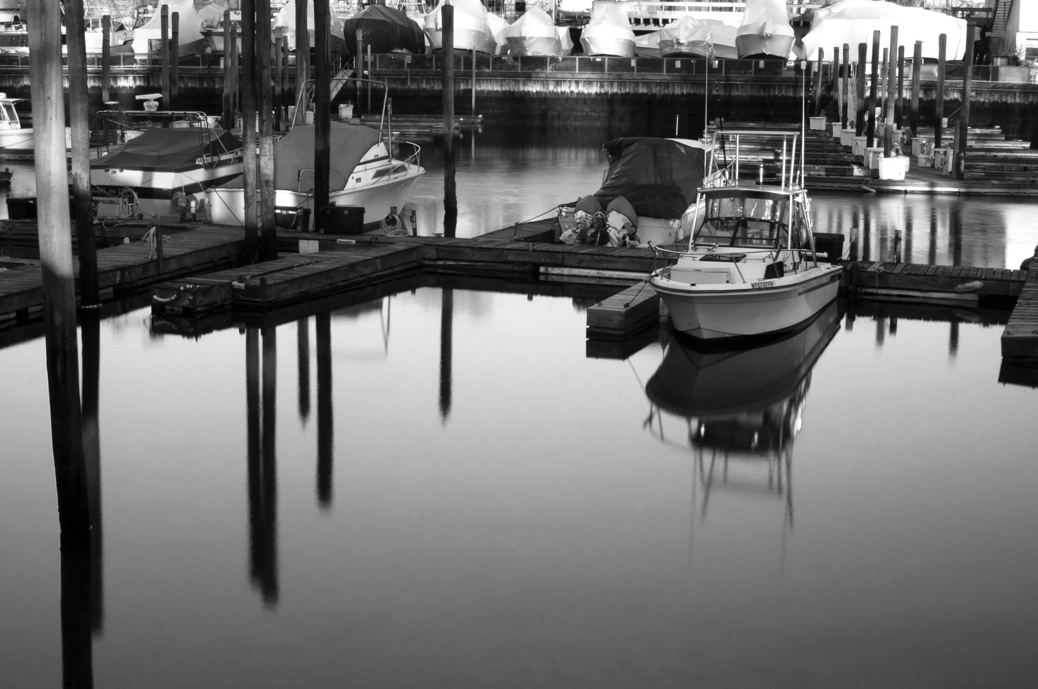 Photograph Marina Lit Morning by Phil Gauthier on 500px