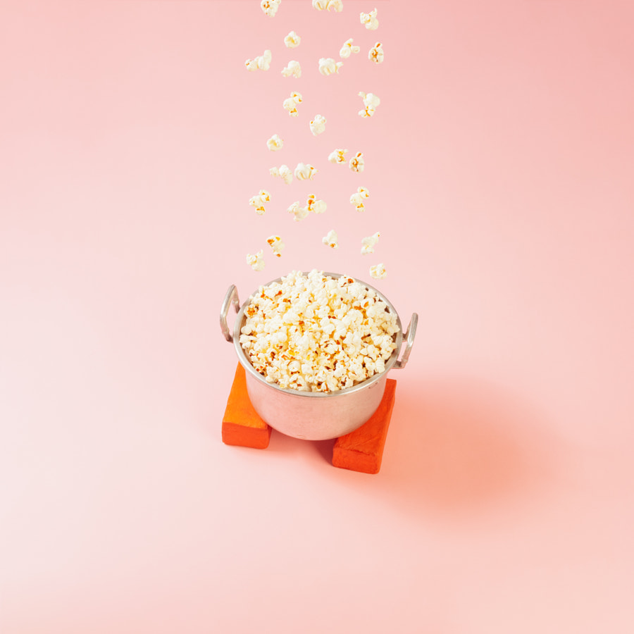 Upside down popcorn rain by Hardi Saputra on 500px.com
