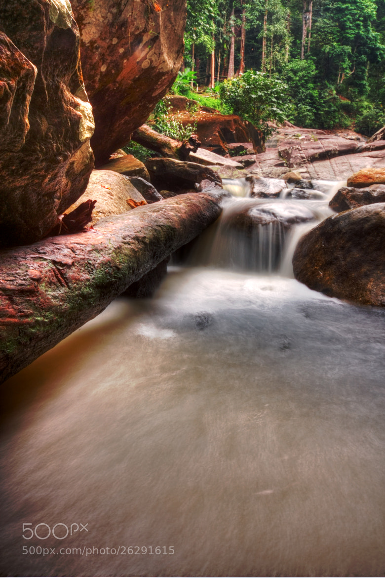 Photograph Gunung Stong Waterfall #1 by Qallam Ahmad on 500px