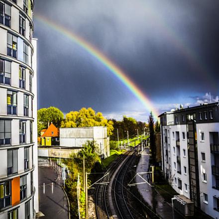 The rainbow ...