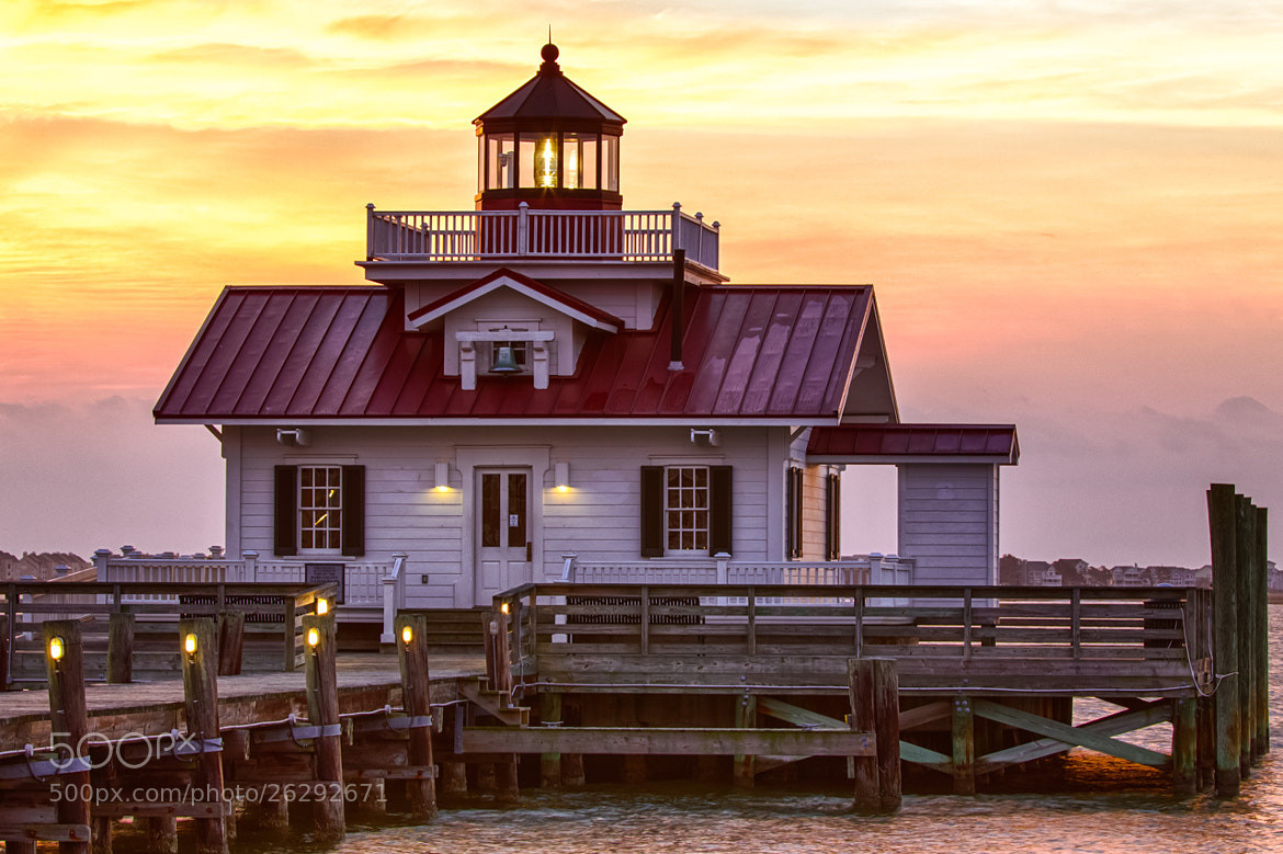 Photograph Roanoke Marsh Light by Michael Lloyd on 500px