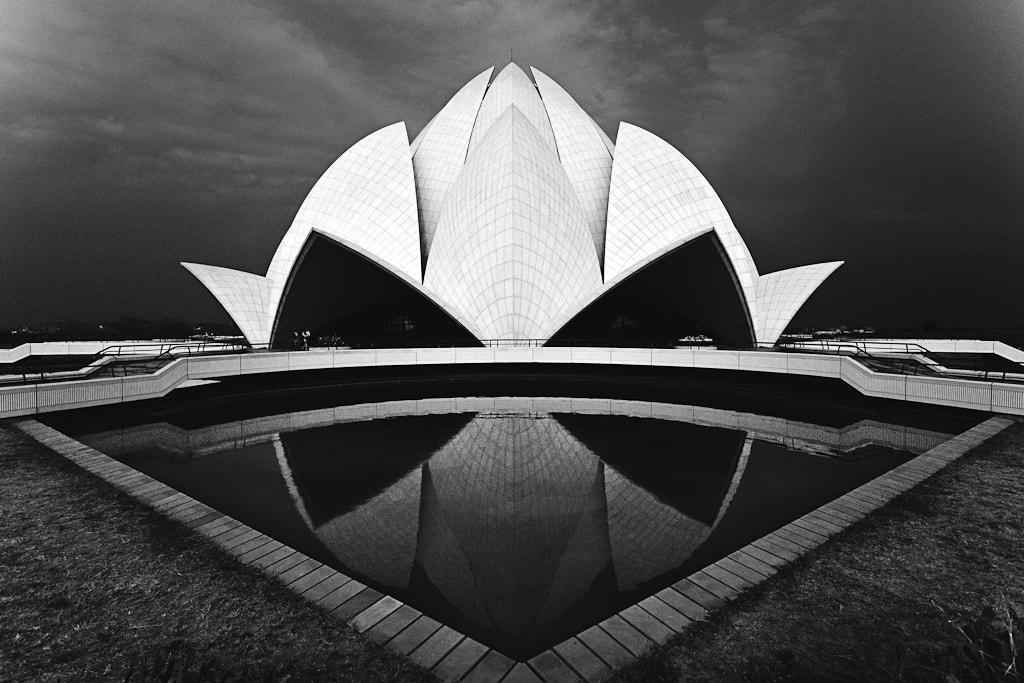 Photograph Lotus Temple, New Delhi, India by Tomasz Wagner on 500px