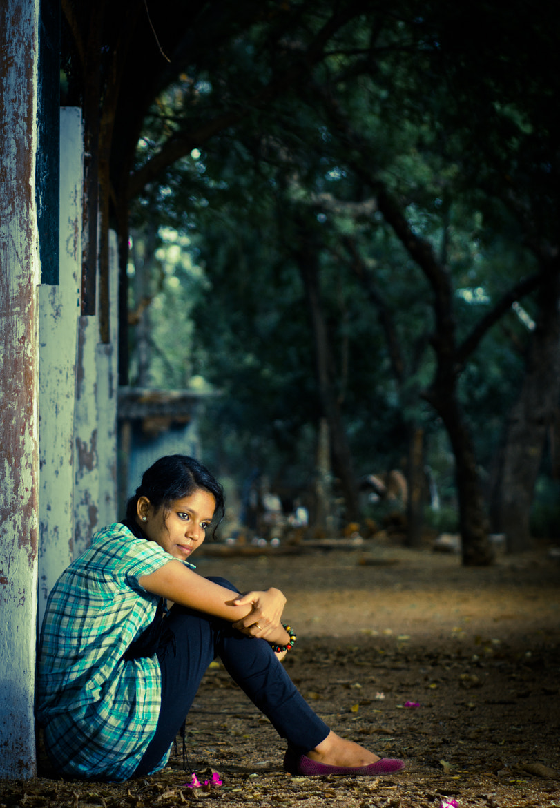 Photograph girl by Aravindh Ganesh on 500px