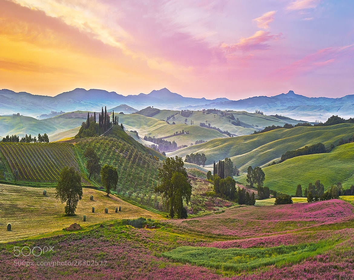 Photograph Tuscany by Ed Cooley on 500px