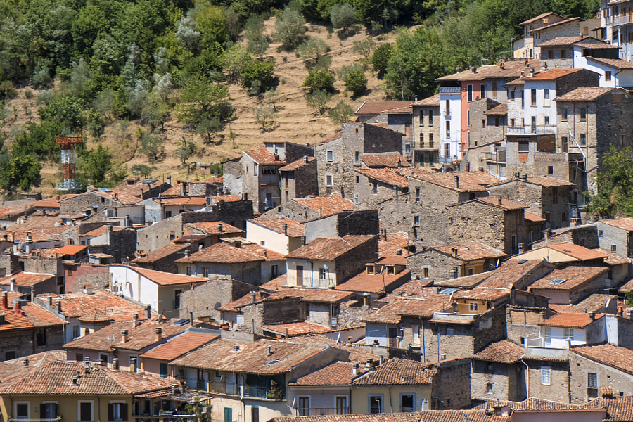 Antrodoco (Rieti, Lazio, Italy), panoramic view by Claudio G. Colombo on 500px.com