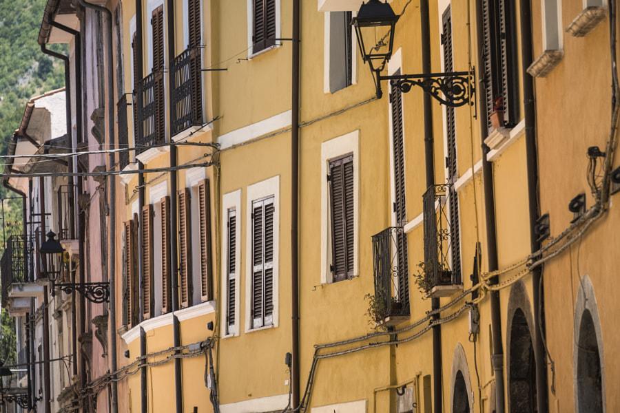 Borgo Velino (Rieti, Lazio, Italy), old street by Claudio G. Colombo on 500px.com