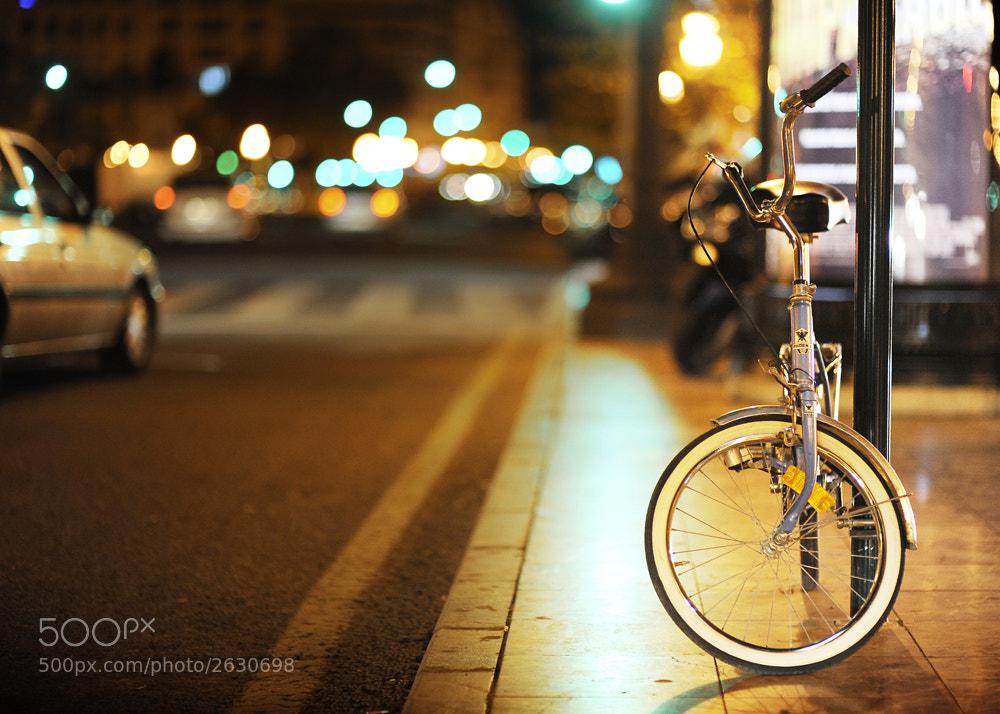 Photograph Night bike cowboys by Manuel Orero on 500px
