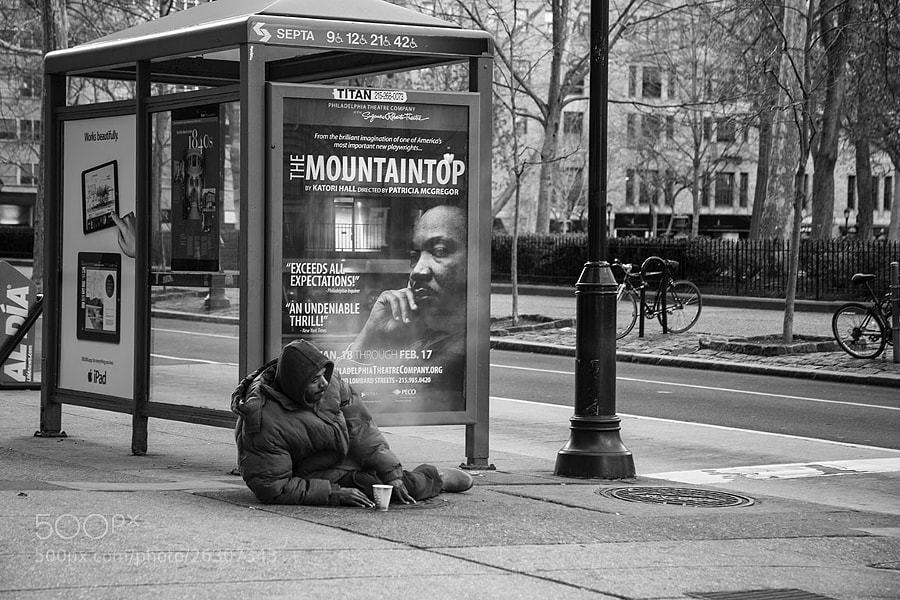 Photograph At the Bus Stop. . . by Sonny Hamauchi on 500px
