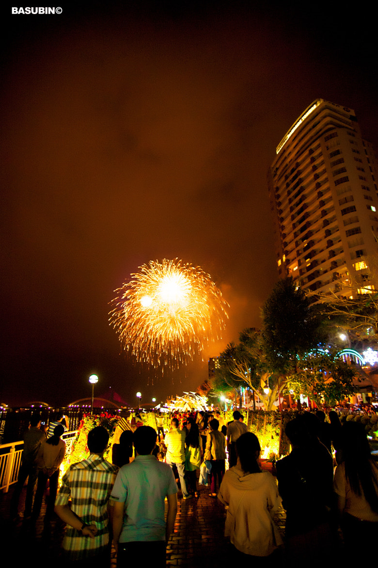 Photograph Danang Fireworks by Subin Truong on 500px