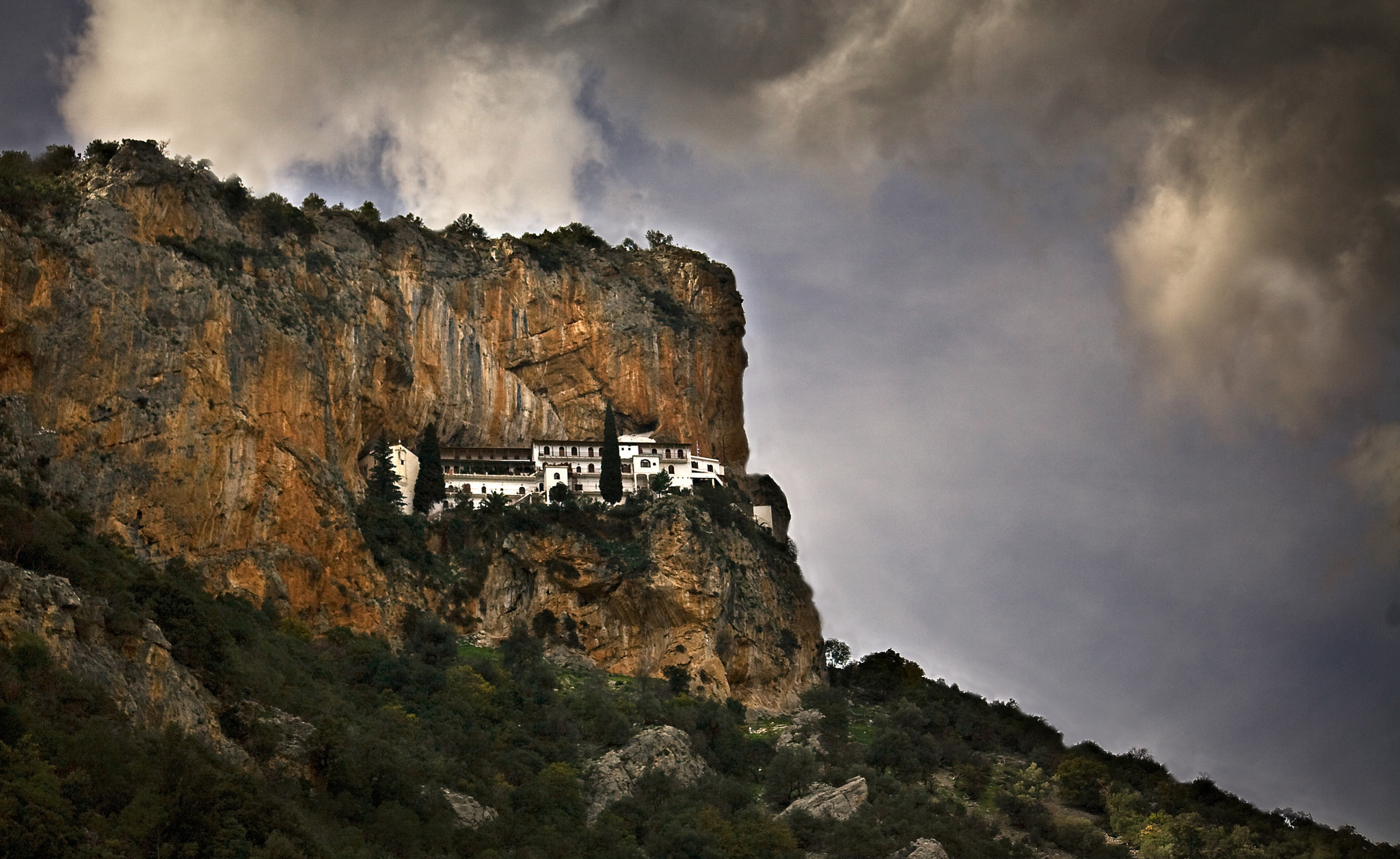 Photograph Elona's monastery by Damianos Kounenis on 500px