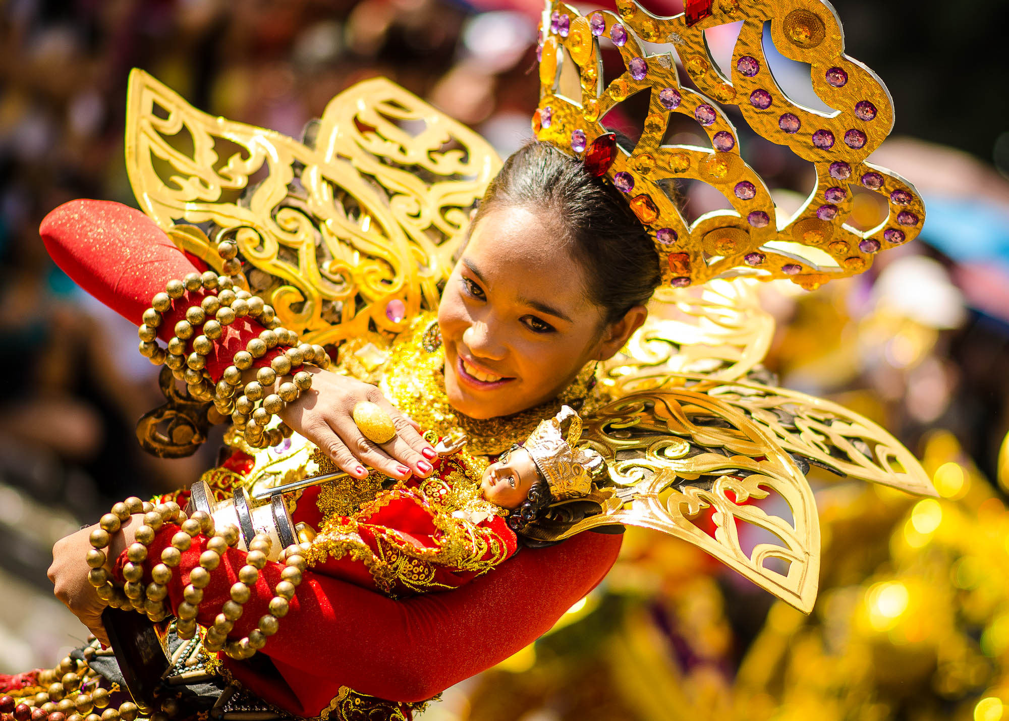 Photograph The Sinulog Queen by Jupert Sison on 500px