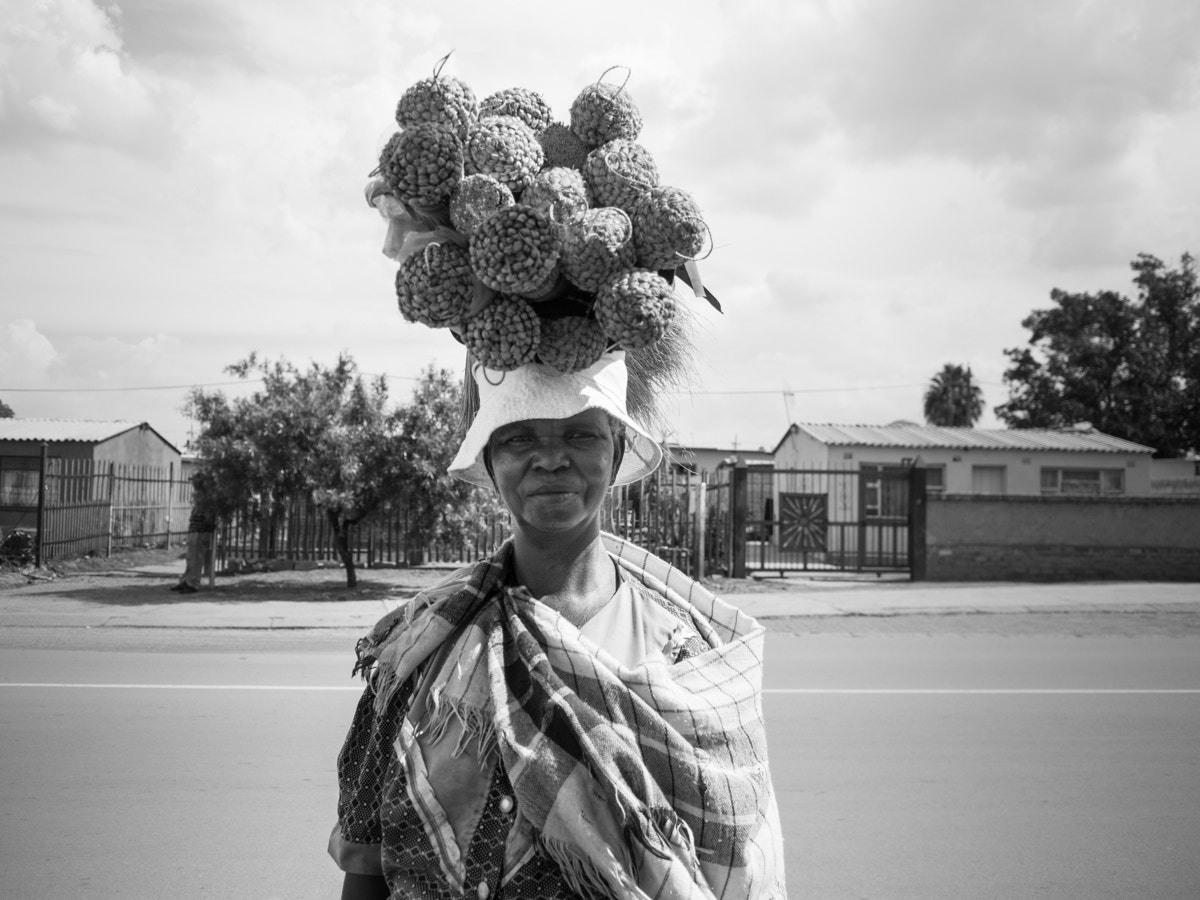 Photograph brooms on her head // mamelodi, south africa by Pamela Ross on 500px