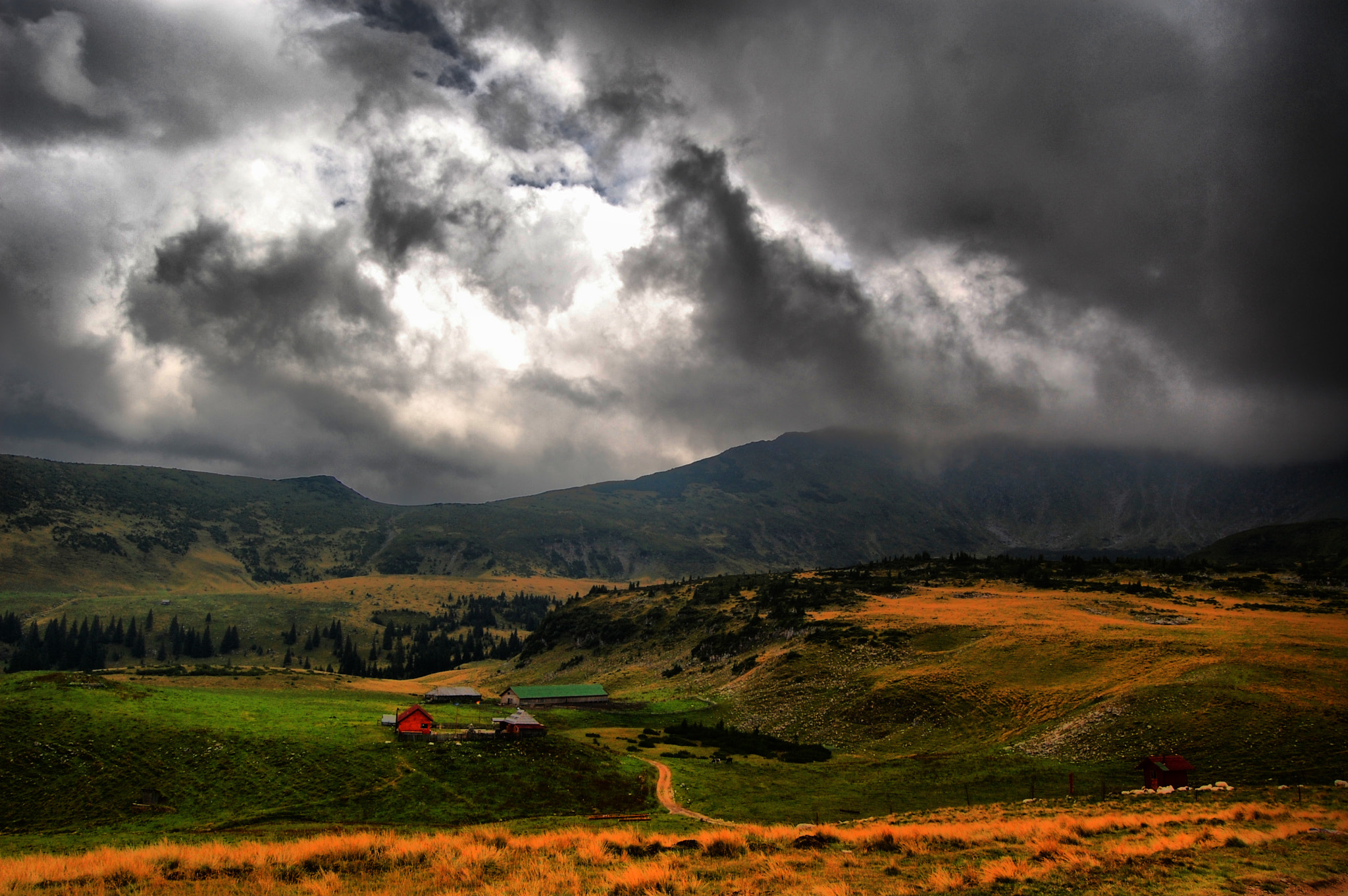 Photograph Stormy Mountains by Igas Marius on 500px