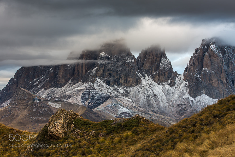"""<a href=""""http://www.hanskrusephotography.com/Workshops/Dolomites-October-7-11-2013/24503434_Pqw9qb#!i=2371298081&k=H5GjX3s&lb=1&s=A"""">See a larger version here</a>  This photo was taken during a photo workshop that I was leading in the Dolomites October 2012."""