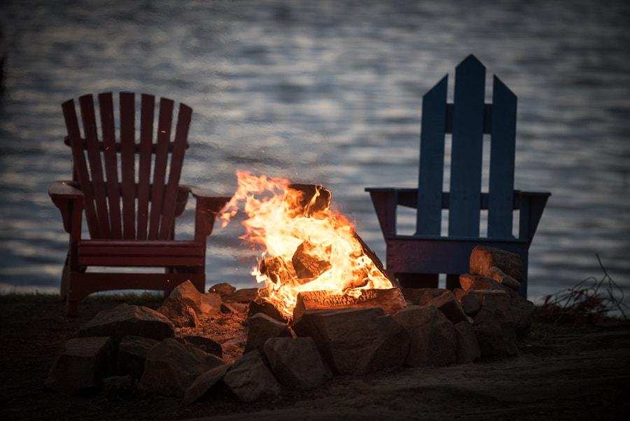 Campfire, автор — Craig Sellars на 500px.com