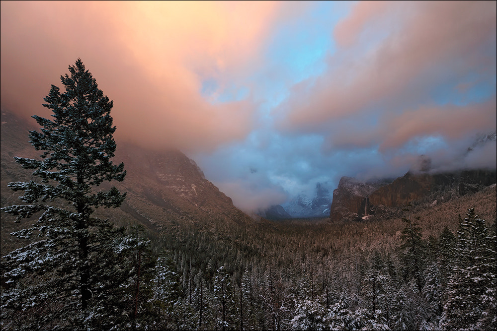 Photograph Clearing Storm Over Yosemite Valley by Don Smith on 500px