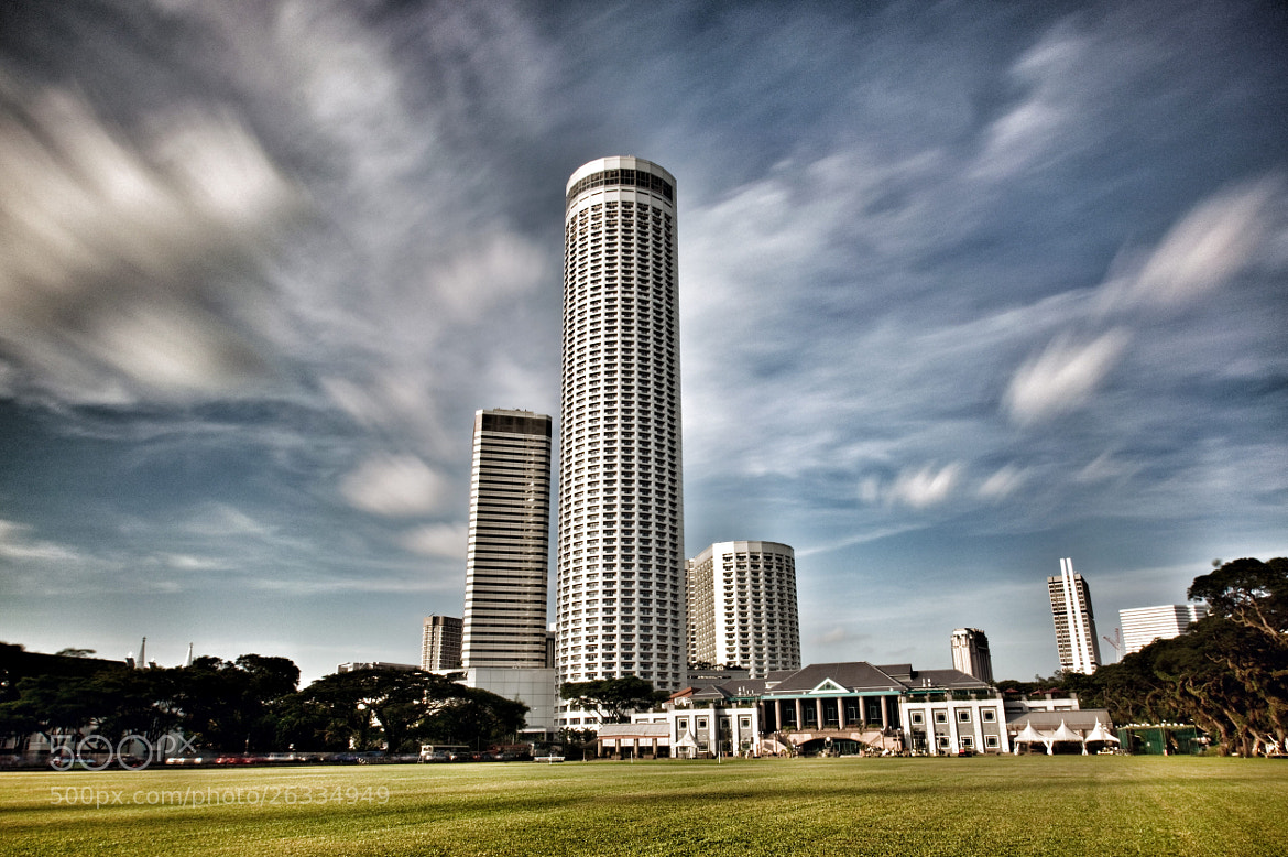 Photograph RAFFLES CITY by Antonio Obispo on 500px