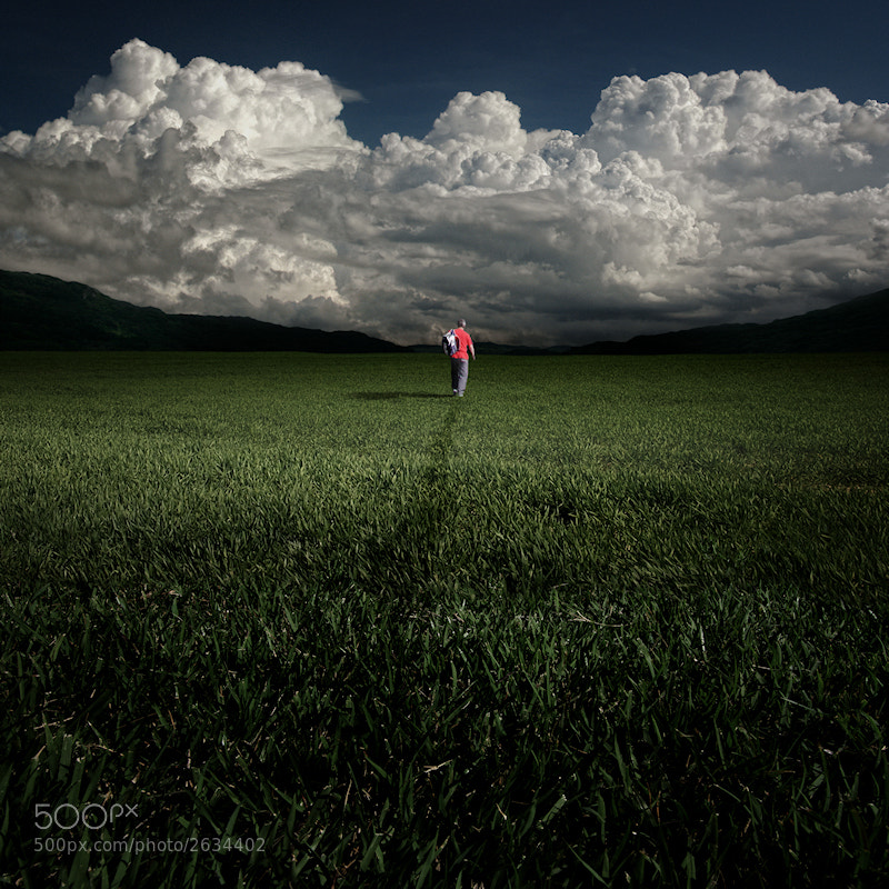 Photograph The Lonely Man by Carlos Gotay on 500px