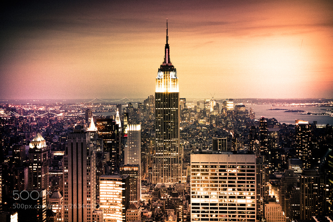 Photograph Empire State Building by NDStudio Fotografi on 500px