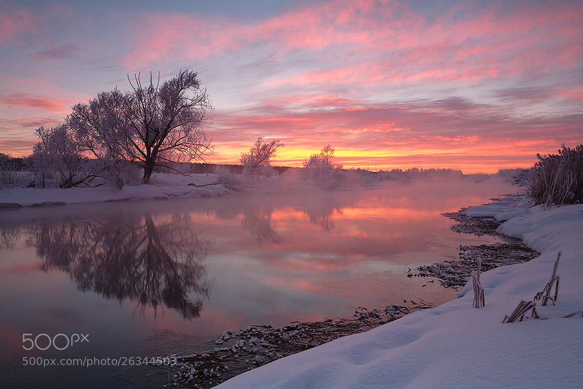 Photograph Ruby Sky in February  by Marat Akhmetvaleev on 500px