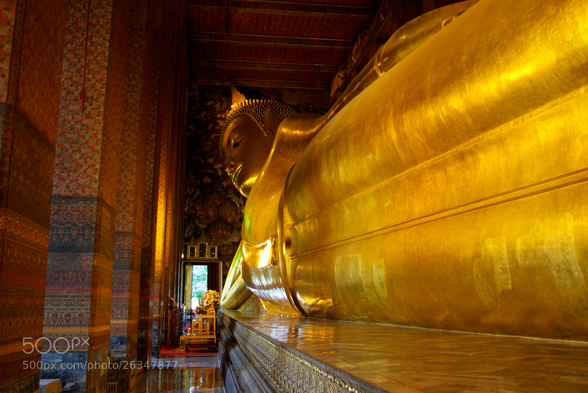 Photograph Lying Buddha by Gilles Le Drian on 500px